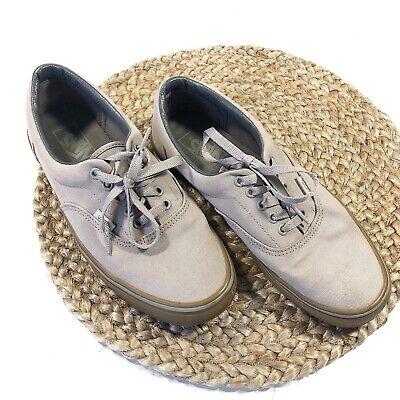 Vans | Men's Size 9 Light Gray Gum Authentic Shoes