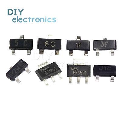 Transistor Bc807 Bc817 Bc847 Bc857 Bfr93a Bss138 Bfg135 Bfg591 Smd Sot Us