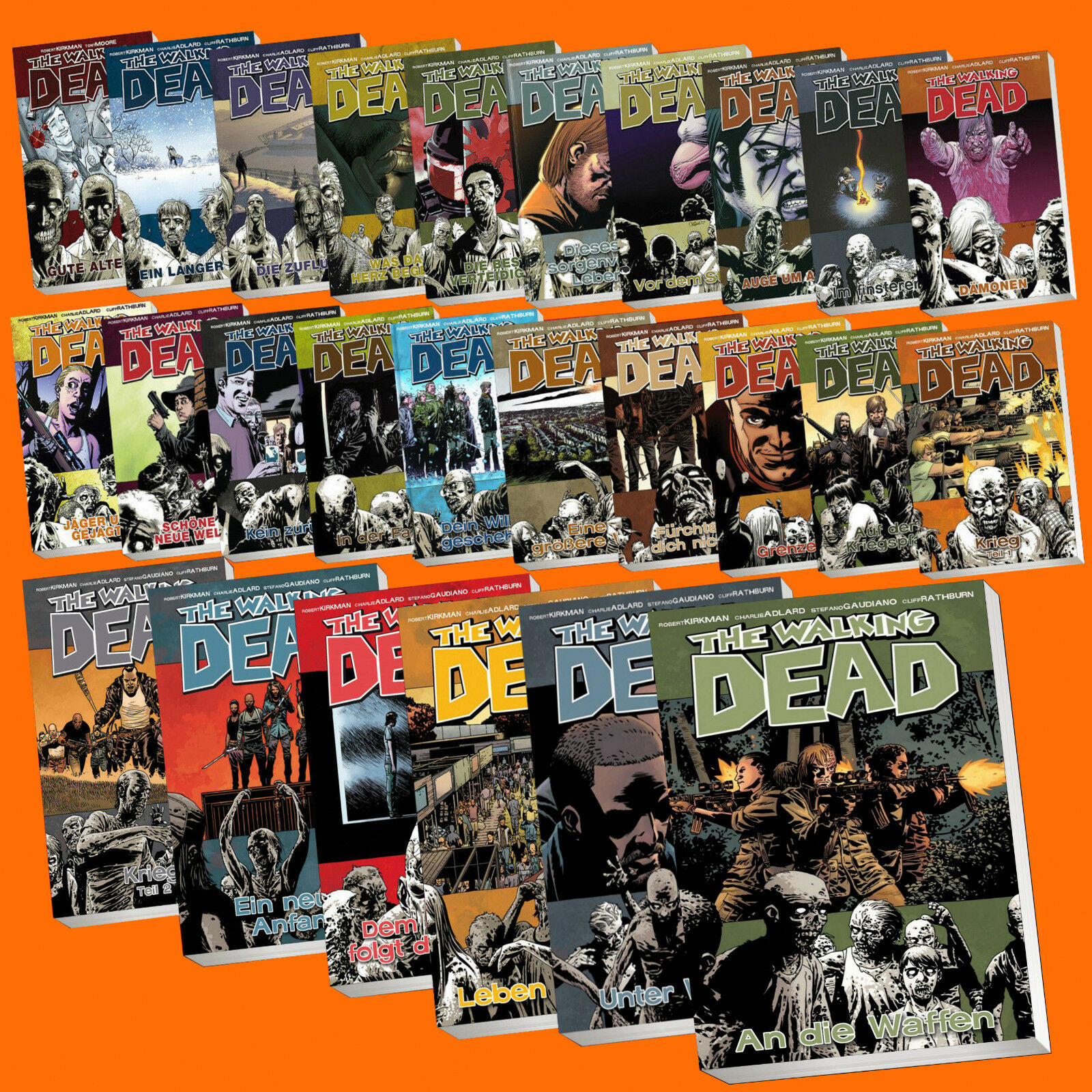 THE WALKING DEAD Comic (Deutsch)   AUSWAHL AUS BAND 1-29   Alle Bücher wählbar