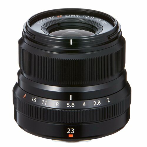 Fuji Fujinon XF 23mm F/2 R WR Lens (Black) *NEW*