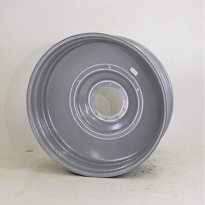 16 X 46 10h Case Ih Tractor Dual Rim Wheel - Silver Mist