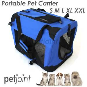 Foldable Pet Soft Portable Dog Cat Carrier Travel Cage Crat Kennel