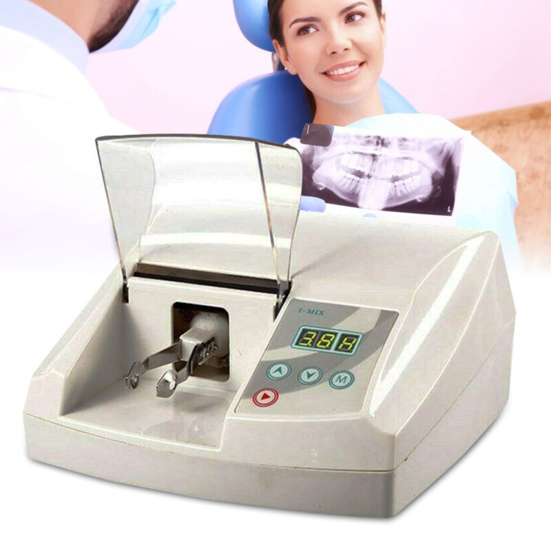 New LCD Dental Lab Digital Amalgamator Amalgam Capsule Mixer Triturator 35W NEW