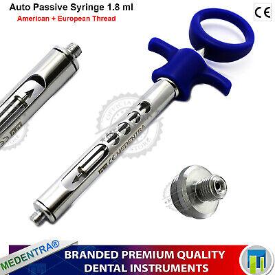 Professional Dental Anesthetic Syringe Self-aspirating 1.8ml Auto Passive Lab Ce