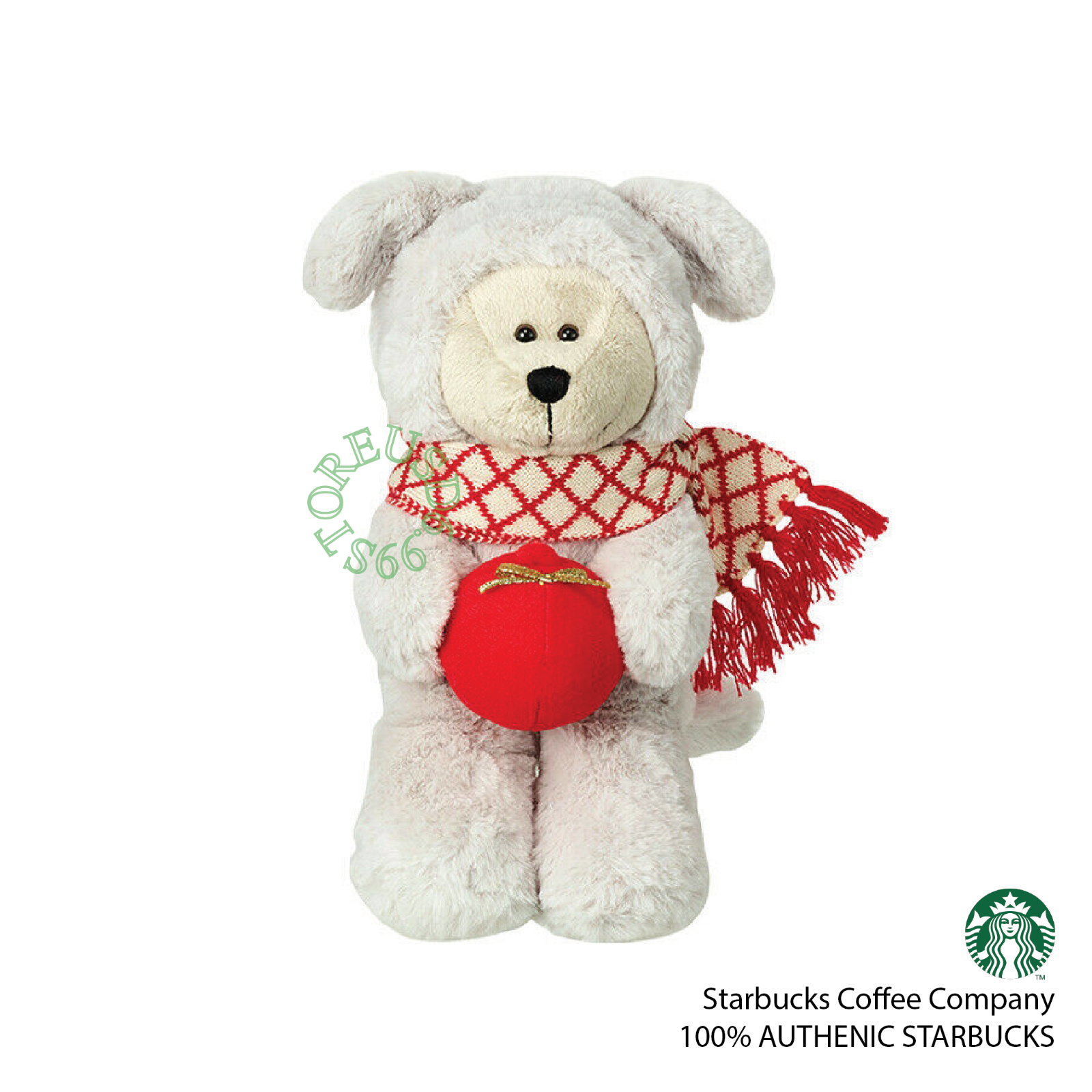 Starbucks Taiwan 2020 Holiday bearista bear