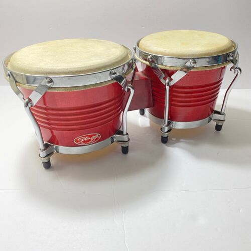 Stagg Model BW-200-N Natural 7.5-Inch & 6.5-Inch Latin Wood Bongo Hand Drums