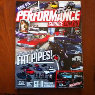 PERFORMANCE GARAGE.COM.AU MAGAZINE.
