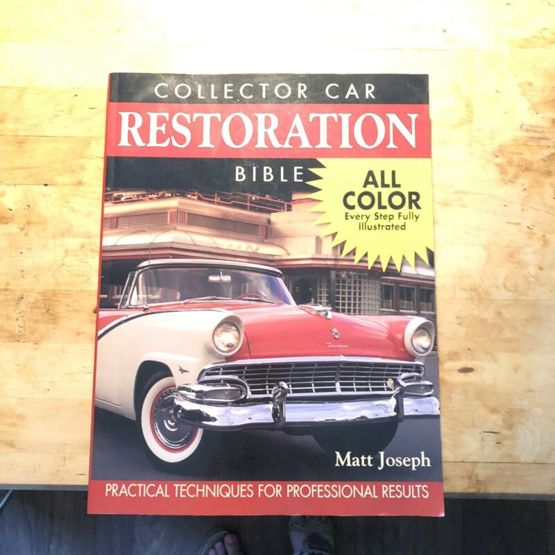 Collector Car Restoration Book KP Books 400 Pages In Color