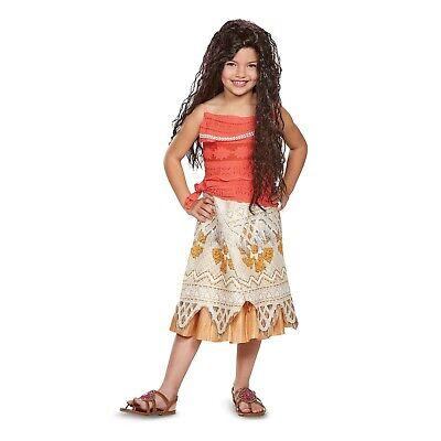 Diguise Girls Child Moana Classic Halloween Costume, Dress-Up, Cosplay, Play](Fun Halloween Costumes For Girls)