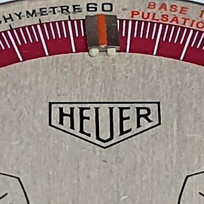 Vintage Heuer Temporado Chronograph Valjoux 7733 Dial