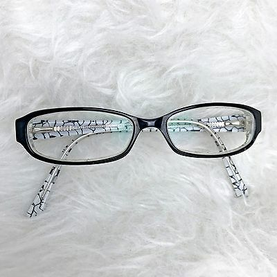 Richard Taylor Cypress Black White Eyeglass Frames Yellow Shimmer Moon (Cypress Frames)