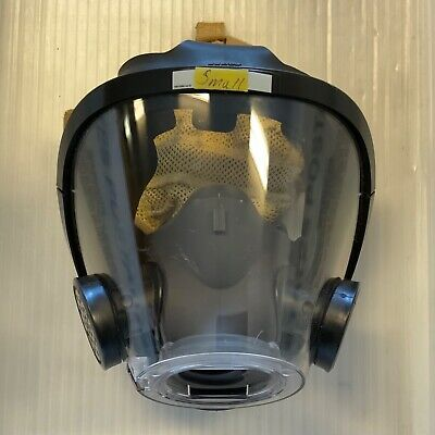 Scott Av3000 Sureseal Firefighter Scba Mask Greynosecup 5pt Kevlarheadnet Small