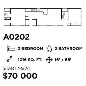 Factory Direct Sale - Wholesale pricing for new home - $64,900