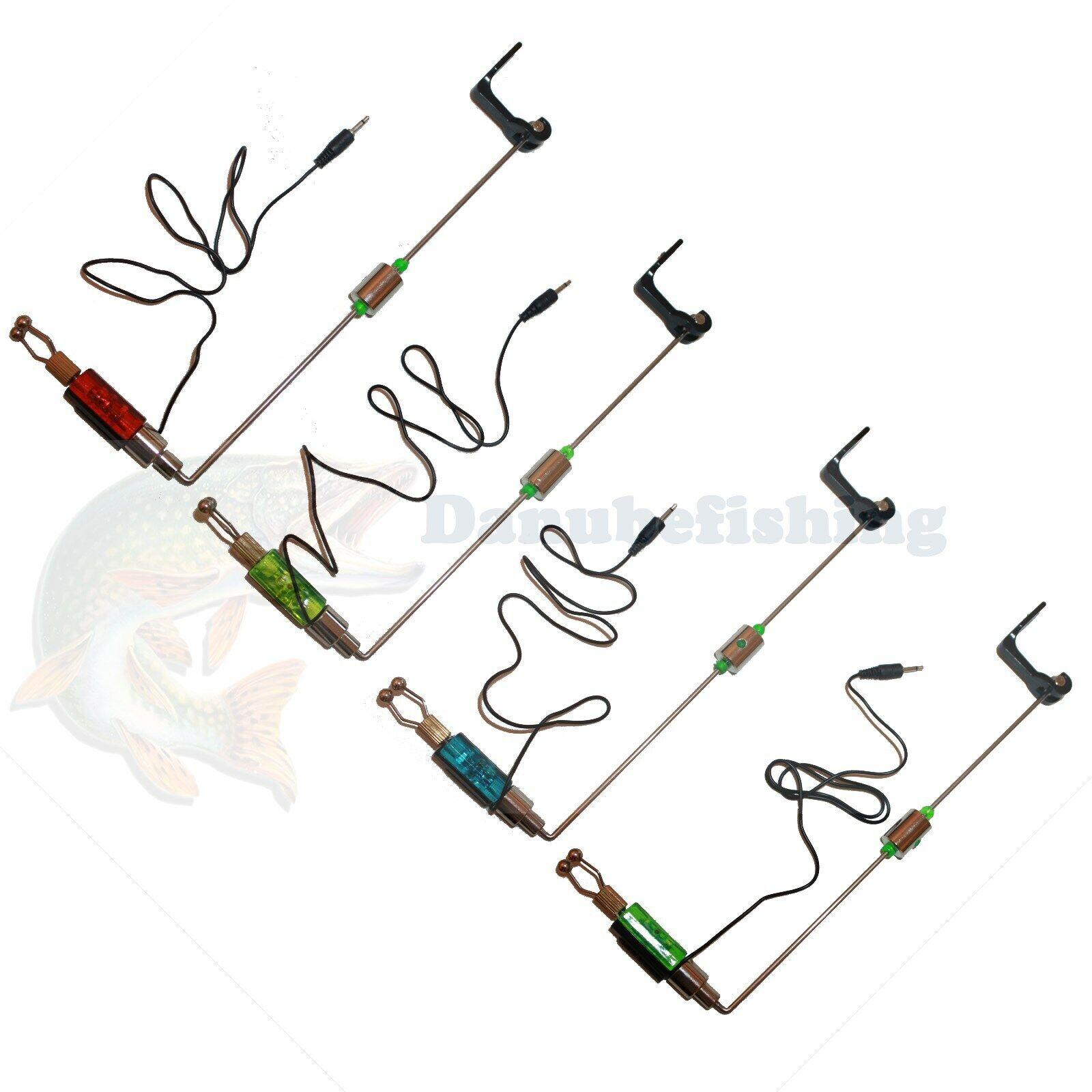 Bissanzeiger LED Hängebissanzeiger Karpfen Swinger Indicator Karpfen Angeln