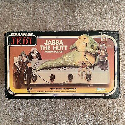 Vintage Kenner Star Wars Jabba The Hutt Playset MISB ROTJ