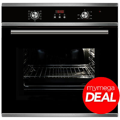 MyAppliances REF28706 60cm Built-in Electric Multifunction True Fan Oven in S/S