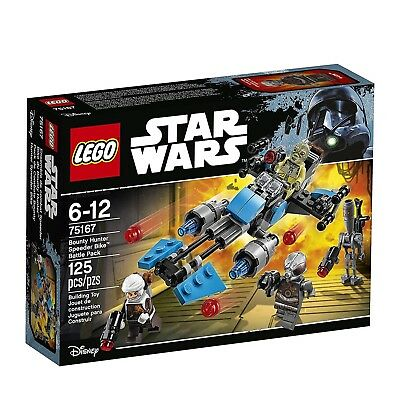 LEGO® Star Wars Bounty Hunter Speeder Bike Battle Pack Building Set 75167 NEW