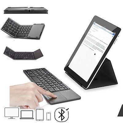 Bluetooth Tastatur mit Touchpad Samsung Galaxy Tab S5e Tablet Faltbare - FKT