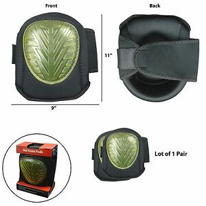 Protective Gel Filled Knee Pads for Construction Carpenter Contractor Home NEW