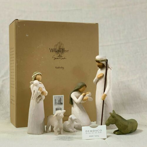 Willow Tree NATIVITY sculpted hand-painted figure| set 6 pieces| #26005