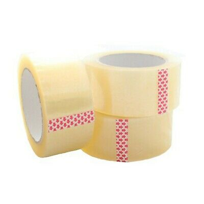 36 Rolls Clear Packing Packaging Carton Sealing Tape 2 Mil Thick 2 X 110 Yards
