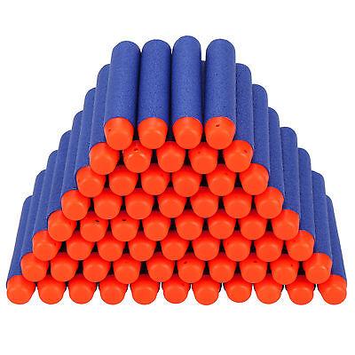 400Pcs 7.2cm Refill Foam Darts For Nerf N-strike Elite Series Blasters Toy Gun