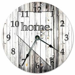 NEVADA RUSTIC HOME STATE CLOCK - Large 10.5 Wall Clock - 2237