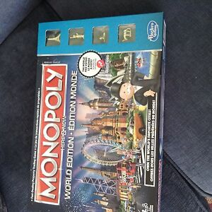 Spring Cleaning Toys- Monopoly World Edition