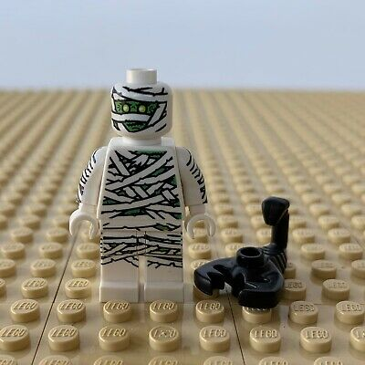 LEGO Minifigures: Mummy SERIES 3, BLACK SCORPION, 8803, BASE, HALLOWEEN