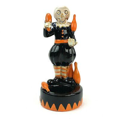 Yankee Candle Boney Bunch Halloween Juggler Tea Light Candle Holder Circus 2019