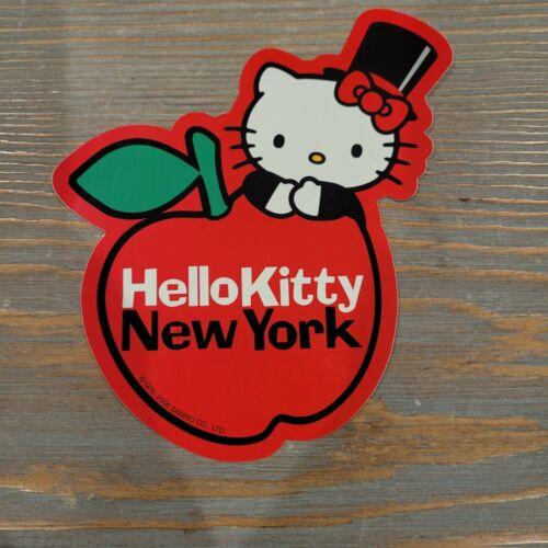 Sanrio Hello Kitty NEW YORK Big Apple Exclusive Sticker 1976 2006 Vintage Rare