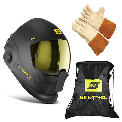 Esab Halo Sentinel A50 Automatic Welding Helmet 0700000800 Bag Tig Glove