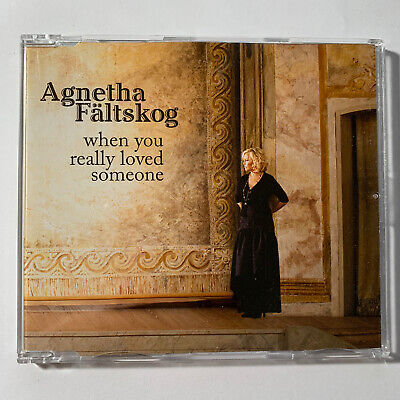Used CD: ABBA's Agnetha Faltskog - When You Really Loved Someone Single IMPORT
