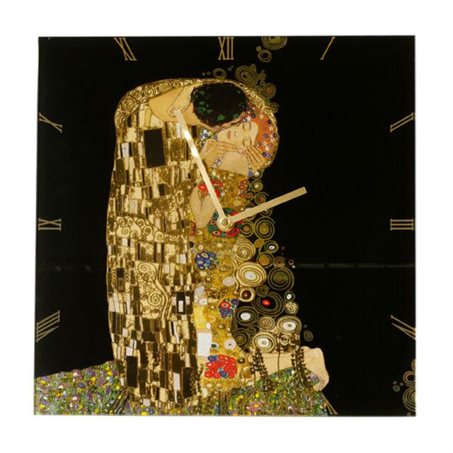 Goebel Artis Orbis Der Kuss Uhr Wanduhr Gustav Klimt Göbel Figuren NEU
