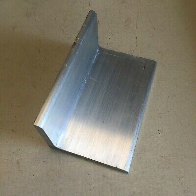 3 X 4 X 38 Inch Aluminum Angle Bar End Drop.