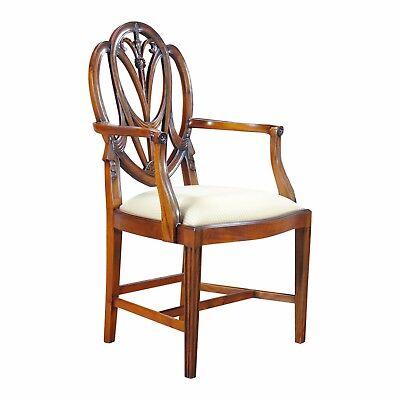 NDRAC038GBZ, Niagara Furniture, Set of Ten Solid Mahogany Sweet Heart Arm Chair - Sweetheart Chair