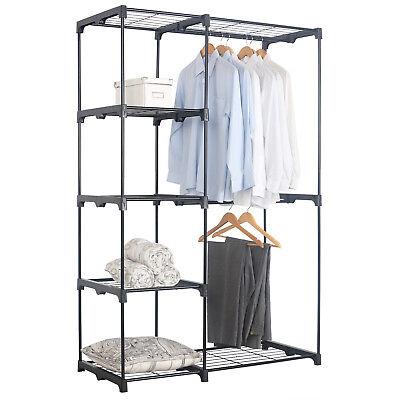 Garderobenständer Kleiderständer Wäscheständer mit Ablage Kleiderstangen SR0050