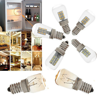(E12 E14 LED Oven Light Freezer Fridge Bulb 3W 4W 15W 25W High Temperature Lamps)