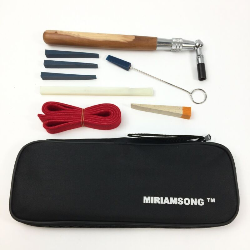 MiriamSong Professional Piano Tuning Kit with Black Zip Carry Case NEW