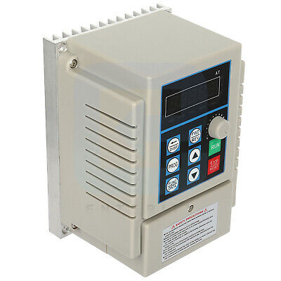220v 0.45kw Variable Frequency Drive 3asingle To Three Phase Speed Controller