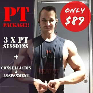Personal Training DISCOUNT PACKAGE!!!!