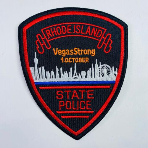 Rhode Island State Police VegasStrong Las Vegas Nevada Patch