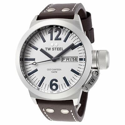 NEW TW Steel Men's CEO Canteen Quartz Watch - CE1005