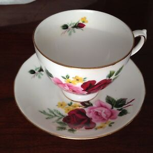 QUEEN ANNE CHINA CUP & SAUCER