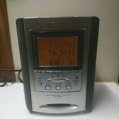 Sony ICF-CD863V Dream Machine CD Player AM/FM Radio Alarm Clock TESTED