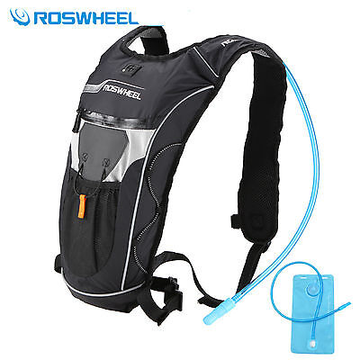 Mochila ROSWHEEL de Hidratacion Ciclismo Running IMPERMEABLE + Bolsa de 2 L...