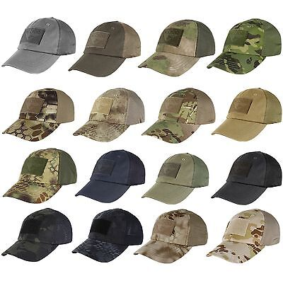 59f51a2376ae0 Condor Tactical Baseball Style Military Hunting Hiking Outdoor Mesh Cap Hat  TCM