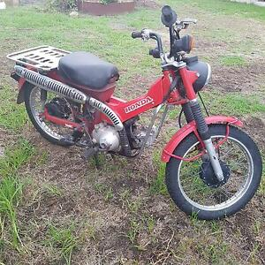 1989 Honda CT 110 East Gresford Dungog Area Preview