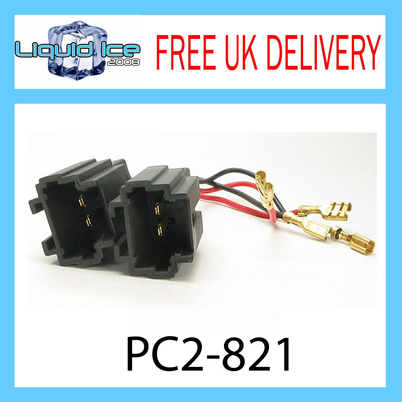 Pc2-821 PEUGEOT 206 Altoparlante Adattatore Lead Stereo Cavo headnuit ct55-pe02