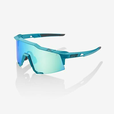Ride 100% Sunglasses Speedcraft Peter Sagan LE Blue Topaz Blue Topaz Mirror (Speedcraft Sunglasses)
